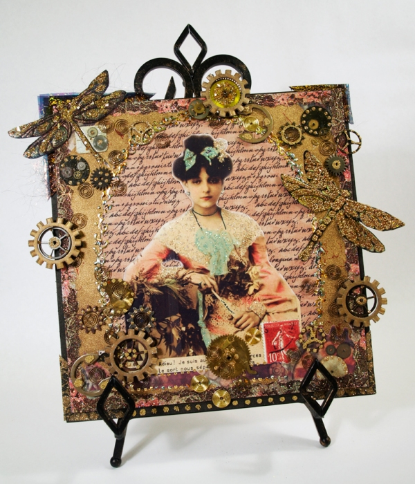 Steampunk collage by Debrey Taylor