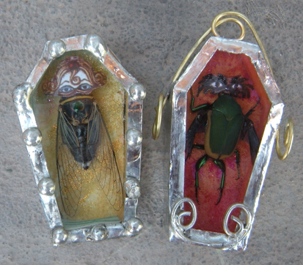 Bug Coffins by Emily M. Miller